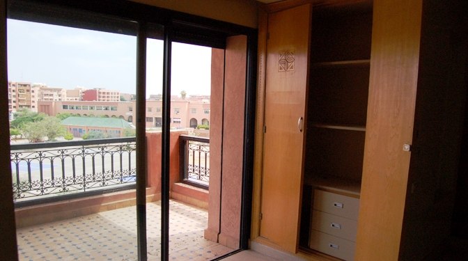 Long term rental apartment Hivernage Marrakech