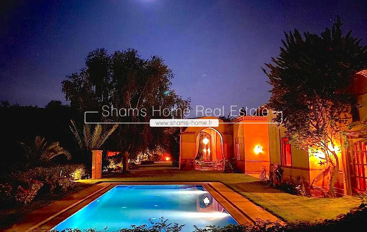 Charming Villa for Rent Amelkis Golf in Marrakech