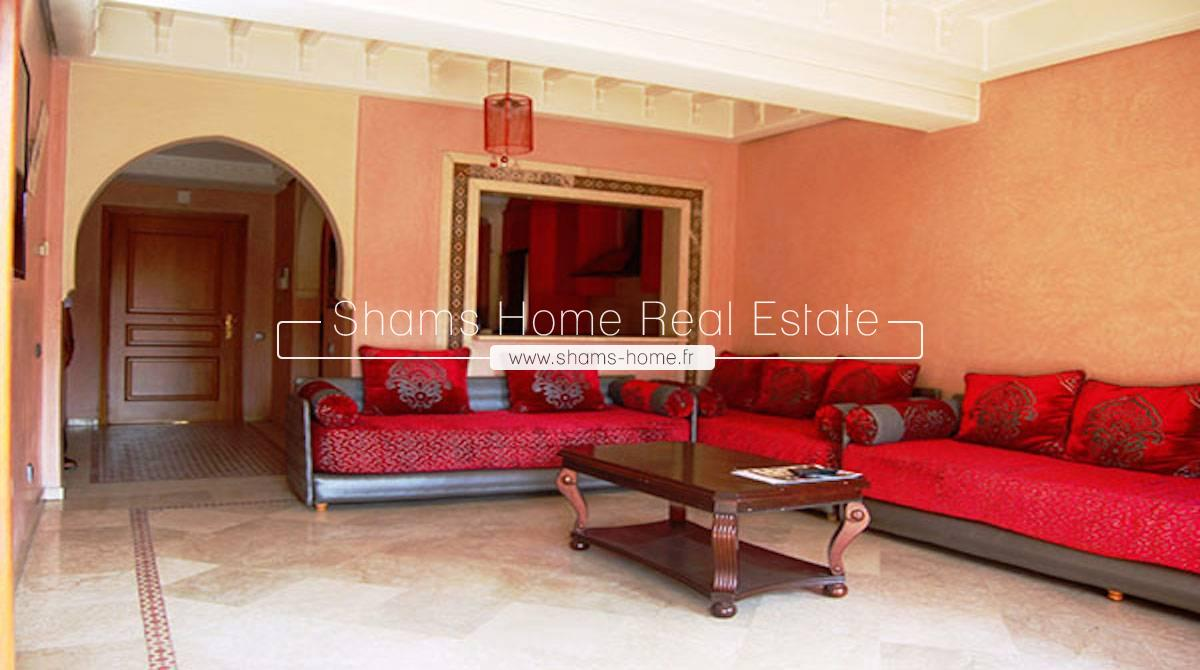 long term rental apartment Marrakech Gueliz