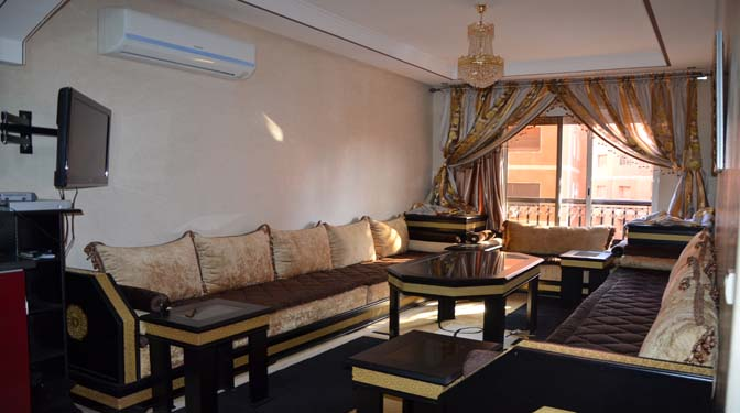 Long Term Rental Apartment Guéliz Marrakech