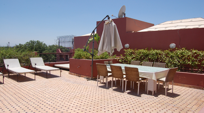 Long Term Rental Duplex/Penthouse Gueliz Marrakech