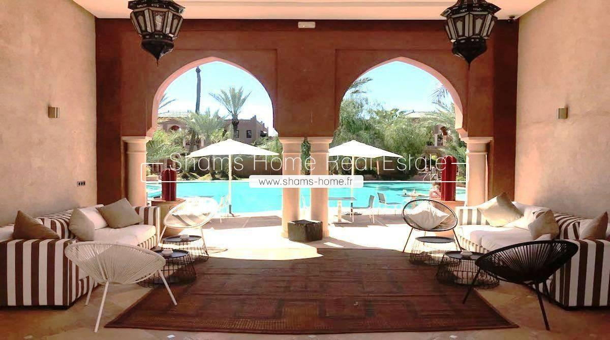 Atypical Villa For Long Term Rental Marrakech Palmeraie