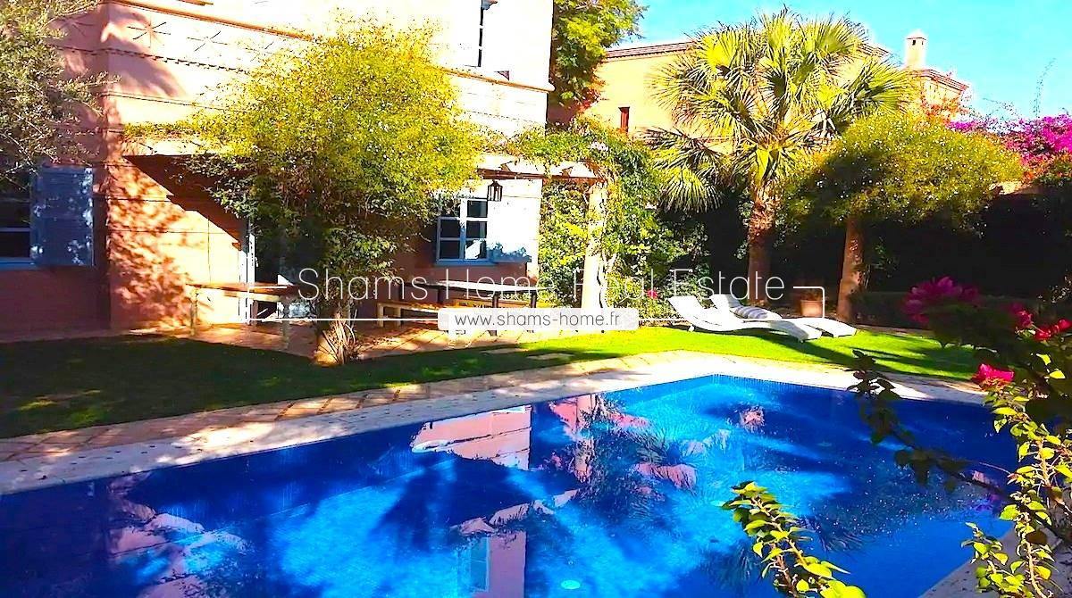 Atypical Villa for Rent Amelkis Golf in Marrakech