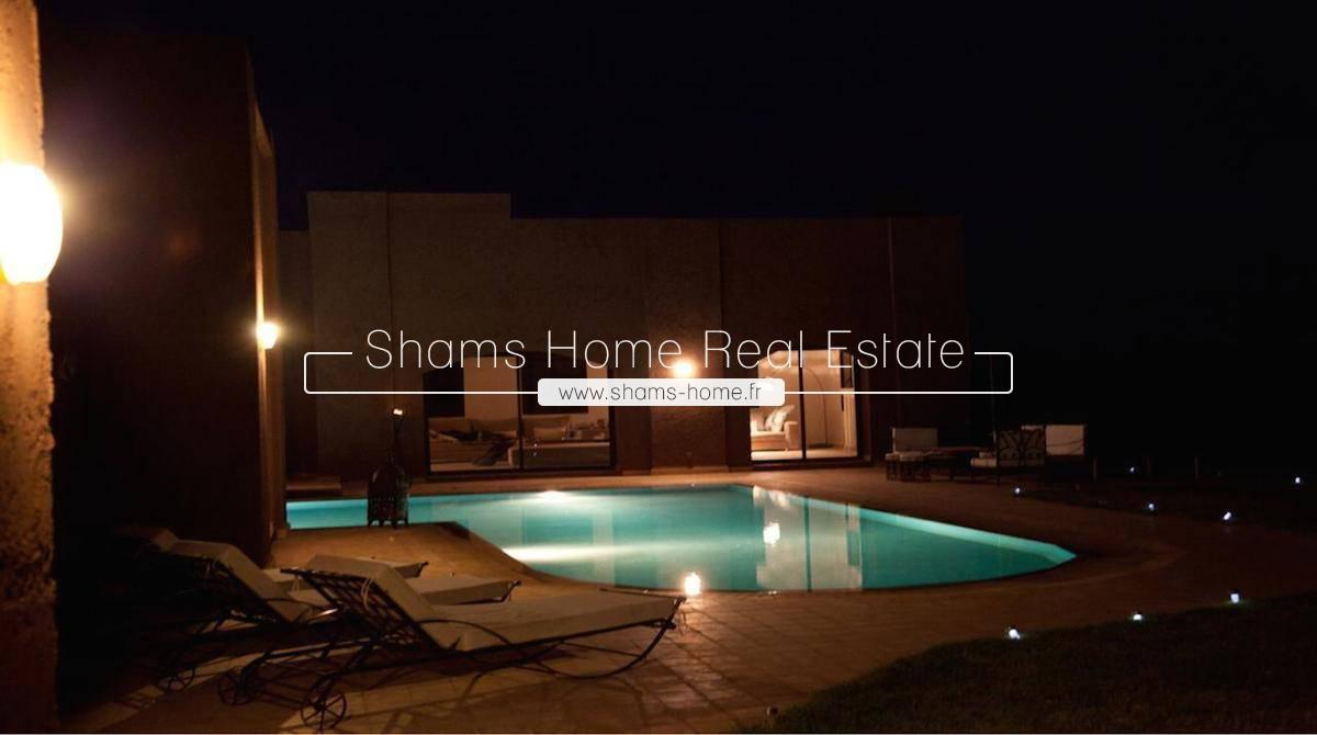 Atypical Villa For Rent Marrakech Road to Ouarzazate