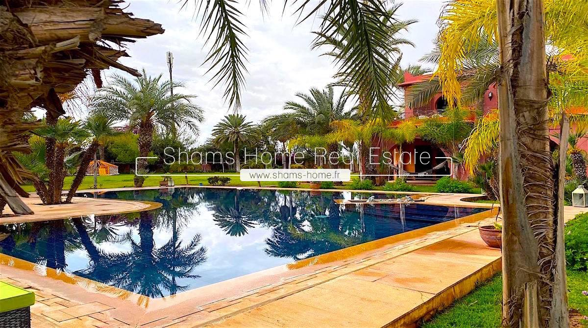 Exceptional Residence for Rent in the Palmeraie of Marrakech
