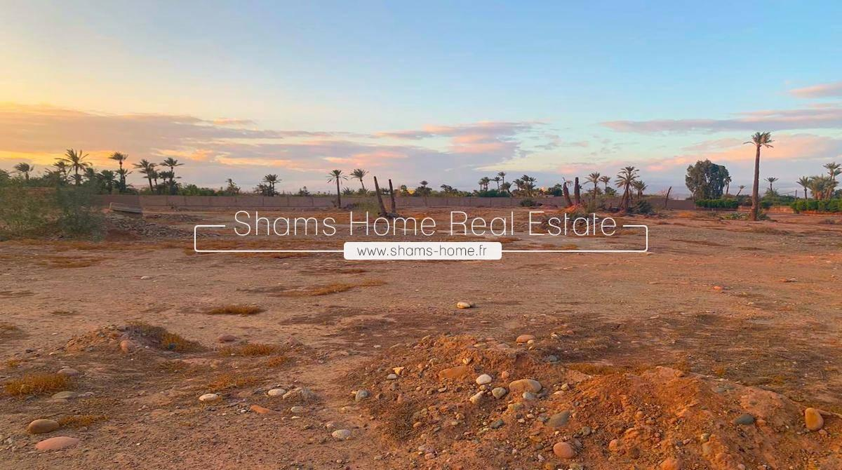 Land for sale at Bab Atlas in Palmeraie Marrakech