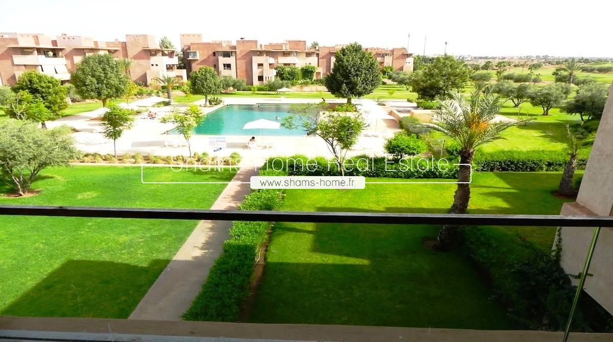 Long term rental Apartment on Golf in Marrakech