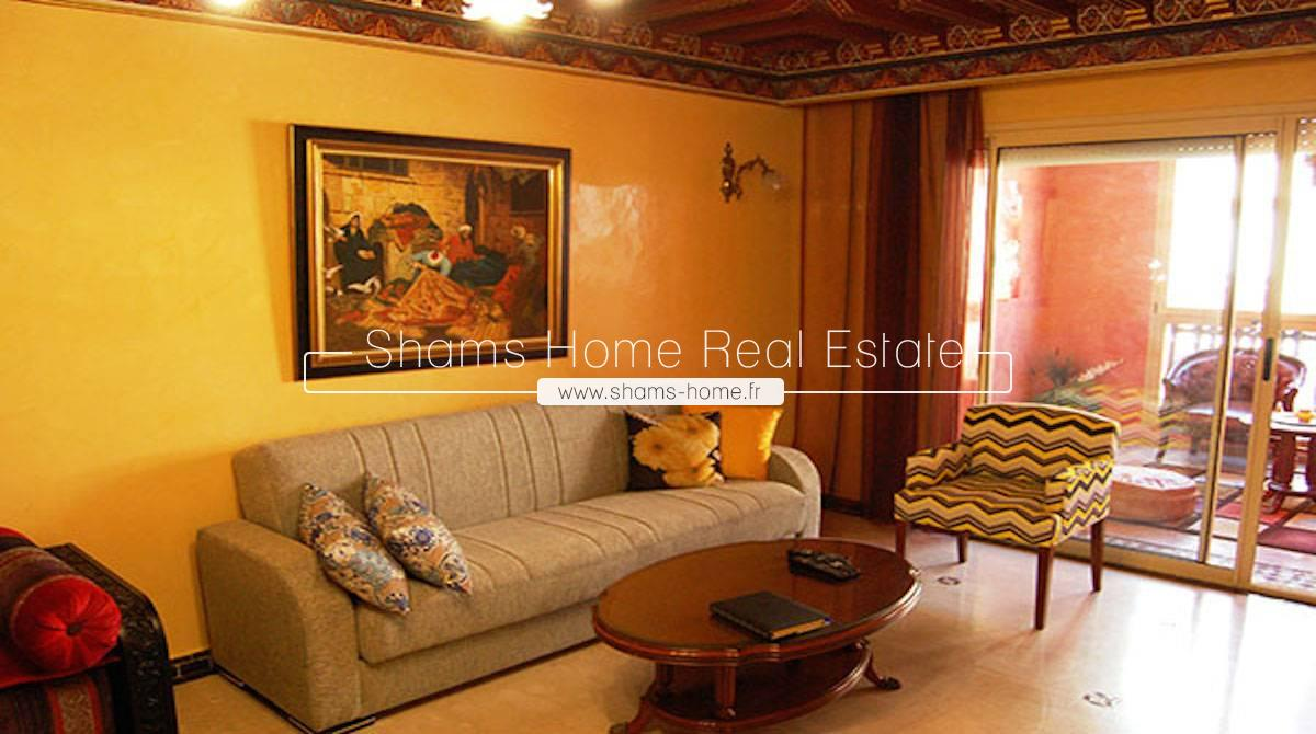 long term rental apartment Marrakech Hivernage