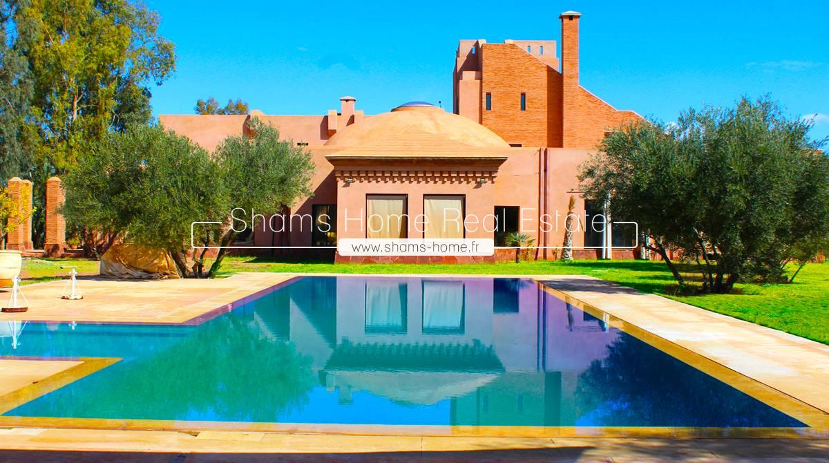 Luxurious Villa for Long Term Rental Marrakech Palmeraie