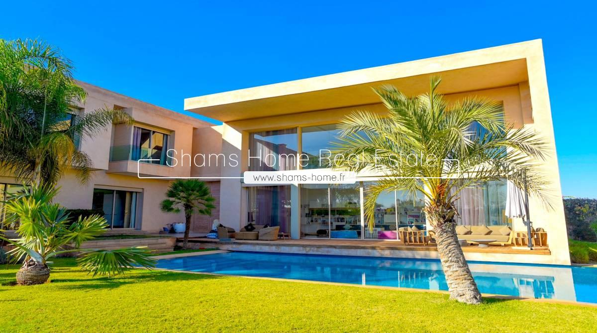 Luxurious Villa for Rent on Amelkis Golf in Marrakech
