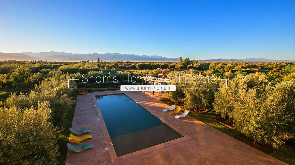 Luxury Villa for Sale in Marrakech Road to Ourika