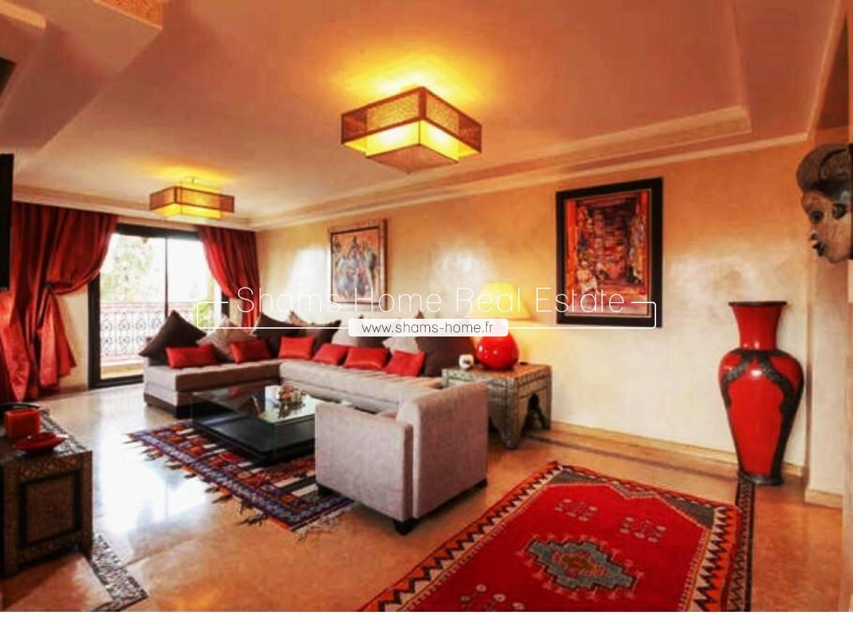 Luxury Apartment For Rent Hivernage Marrakech