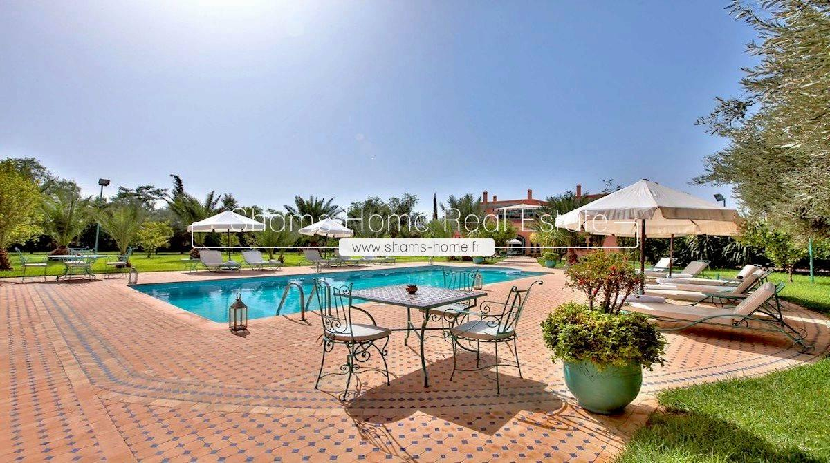 Luxury Guest House for sale Marrakech Palmeraie