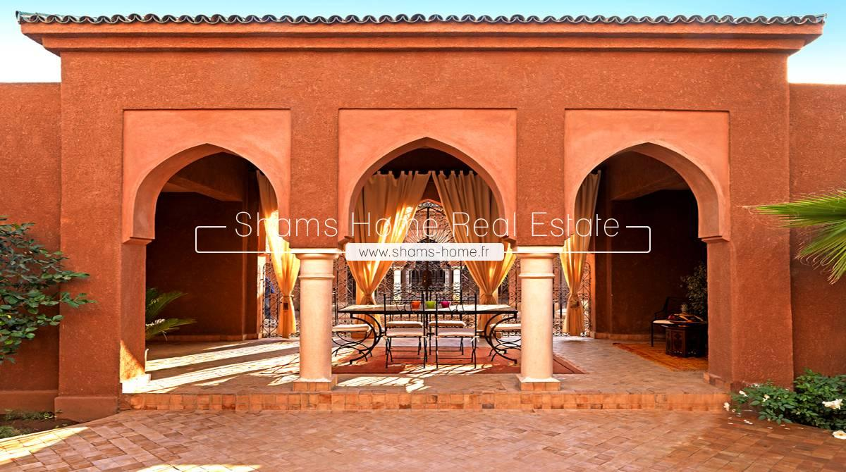 Luxury Villa for Long Term Rental Palmeraie Marrakech