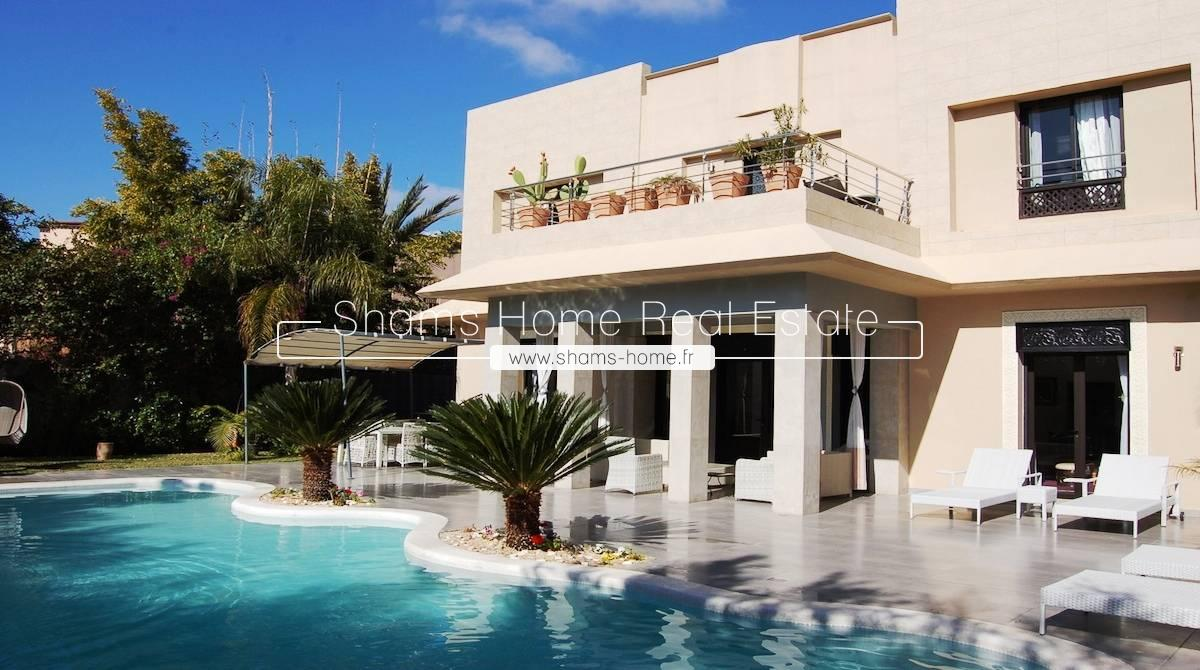 Long Term Rental Luxury Villa On Amelkis Golf Marrakech