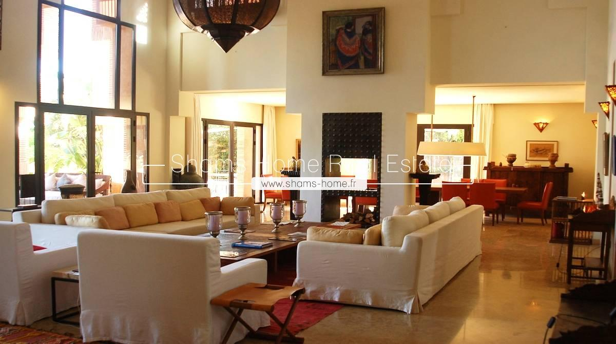 Luxury Villa On Golf Resorts For Rent in Marrakech