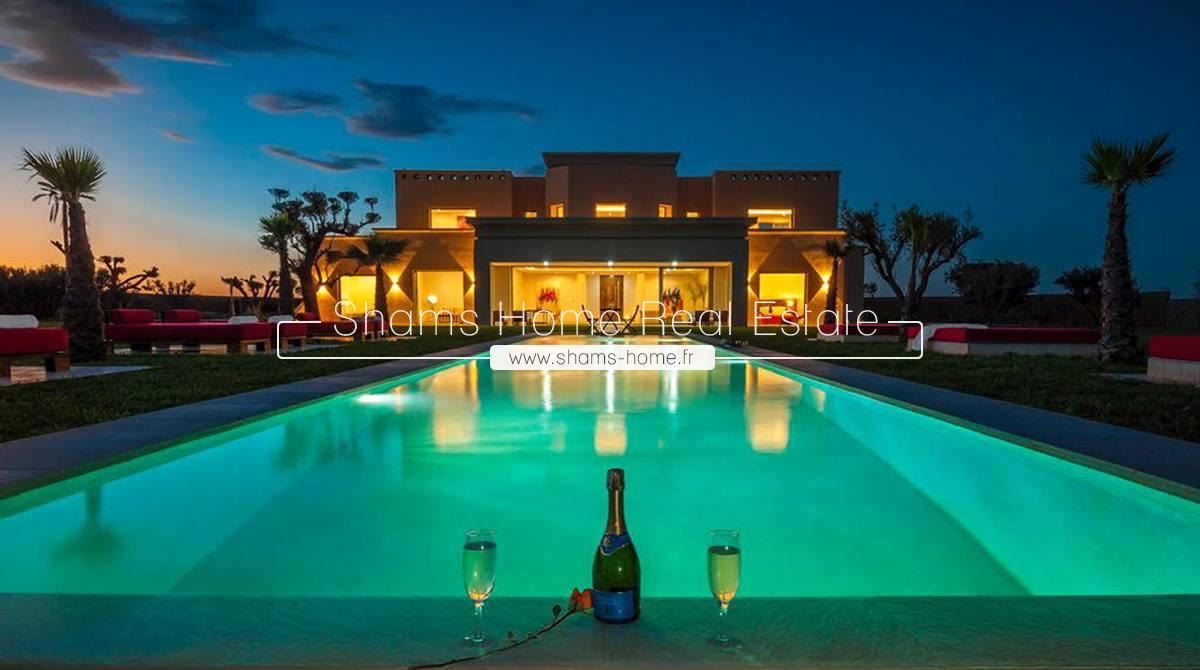 Beautiful Villa for Long Term Rental Marrakech Road to Ouarzazate
