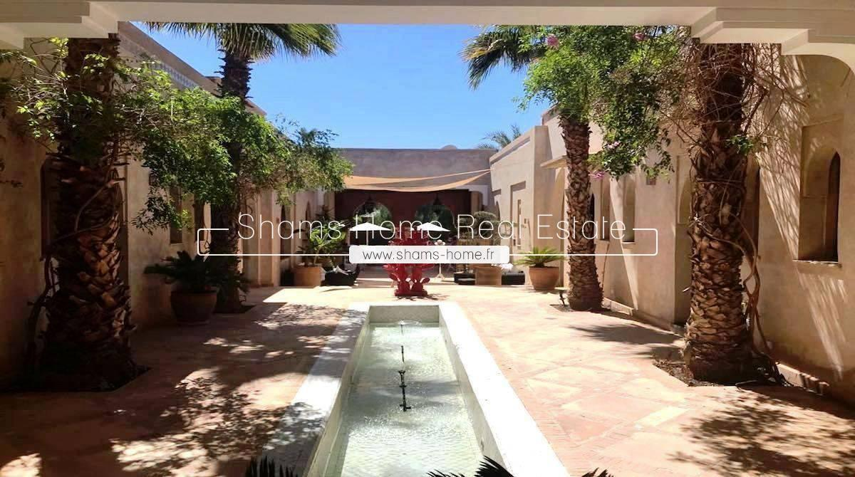Luxury Villa For Long Term Rental Marrakech Palmeraie