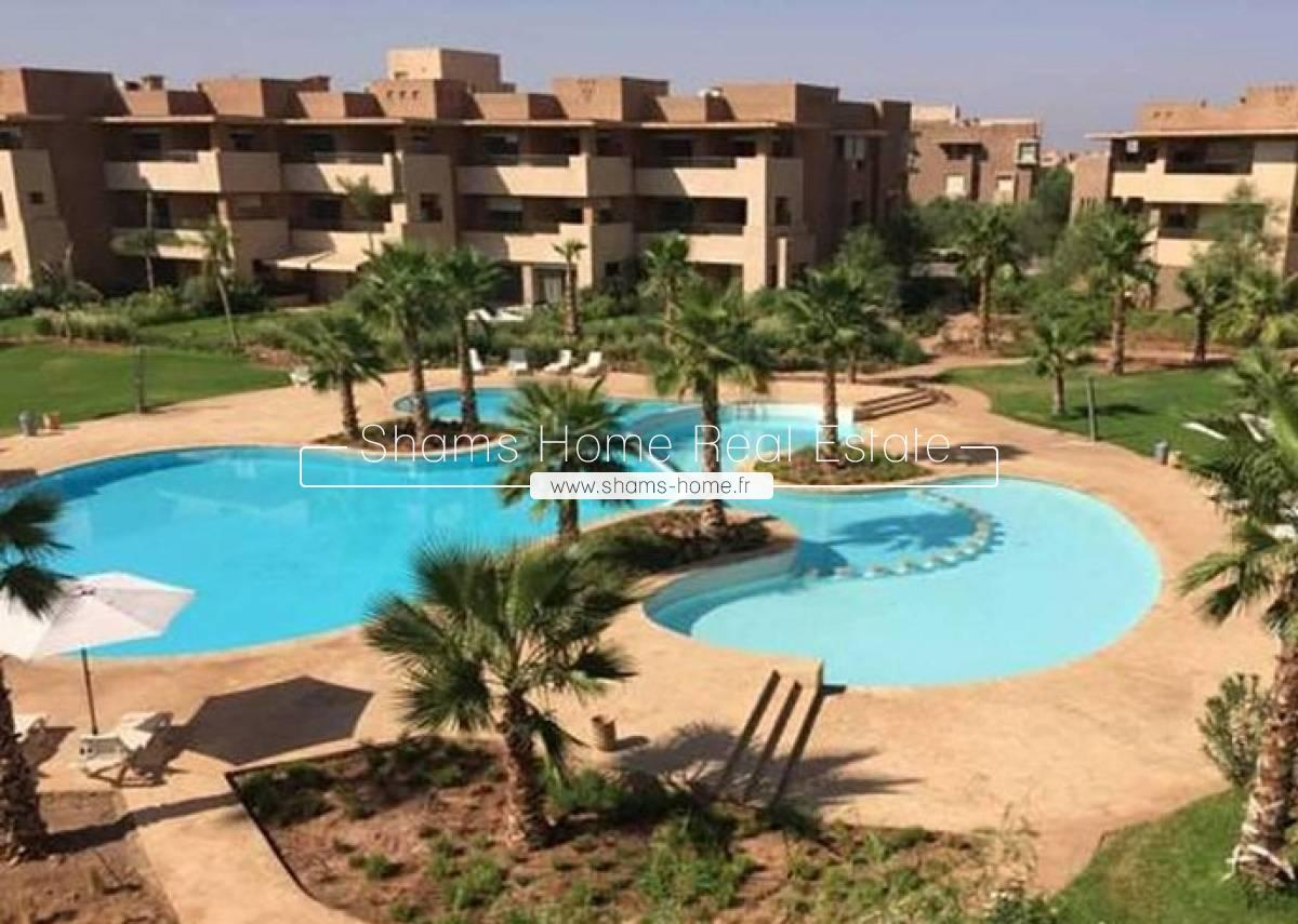 Luxury Apartment For Rent on Golf in Marakech
